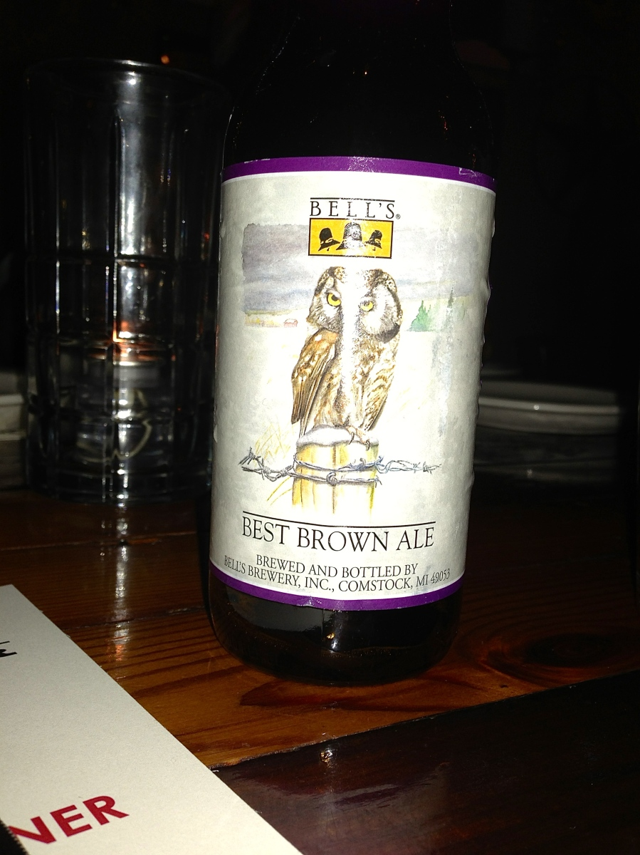 Bells Best Brown Ale.  Some liked this beer best.
