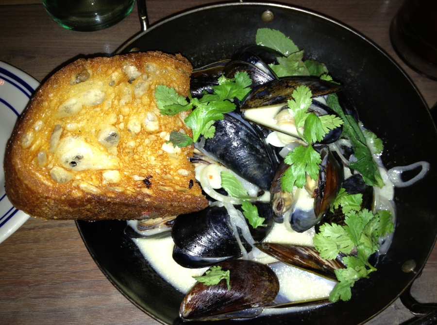 An order of marvelous mussels.