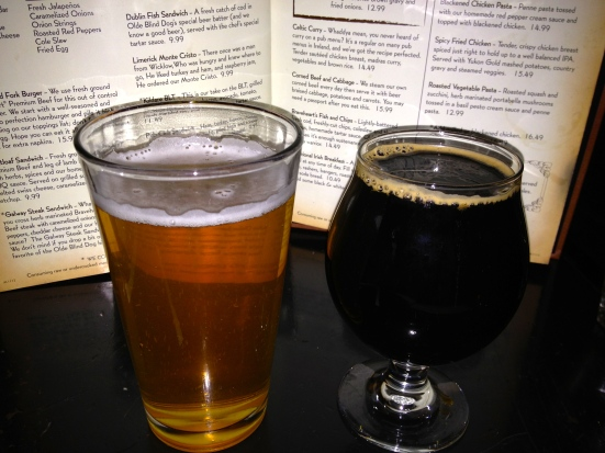 Victory Golden Monkey and Fuller's Imperial Stout