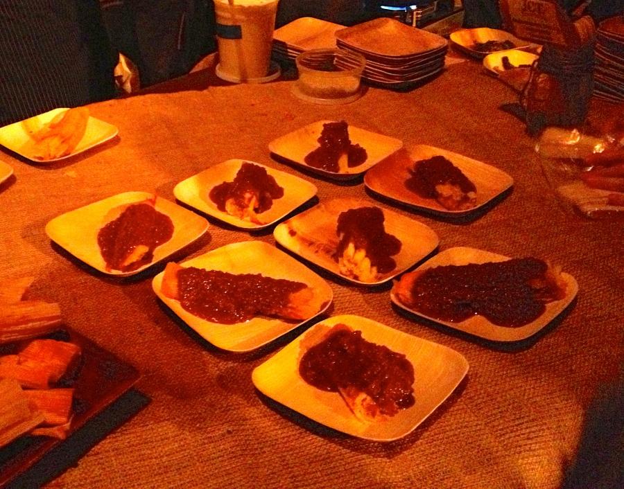 Hot tamales.  Way too hot!