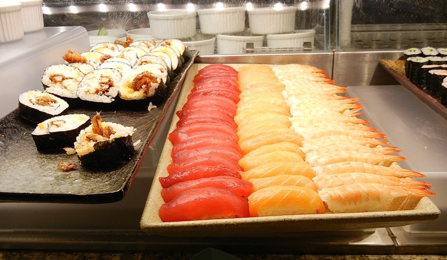 Don't want it cooked? How about a sushi bar?