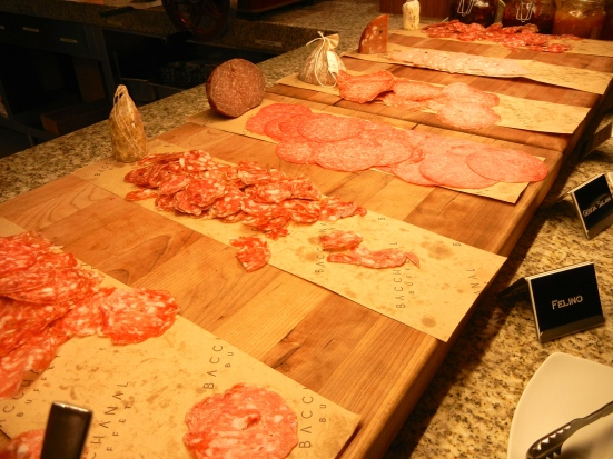 Italians like their dried meats.