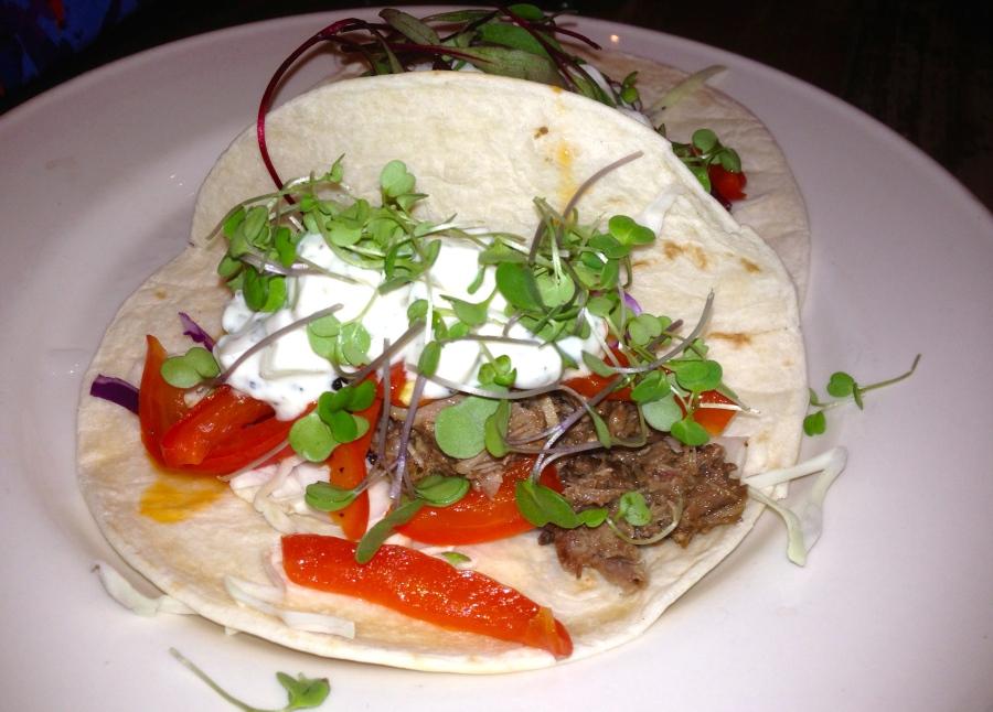 Lamb tacos.