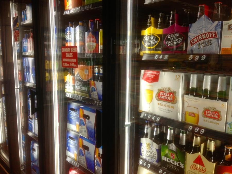 An interesting beer list.