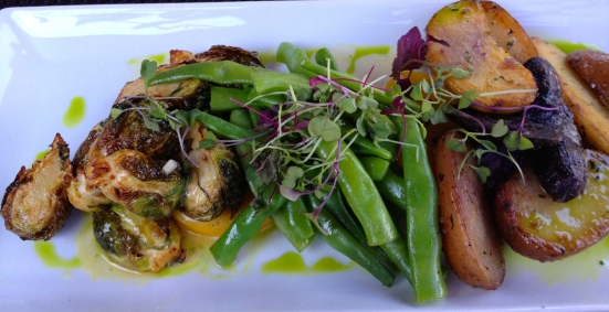 Veggie platter.  Good for you.