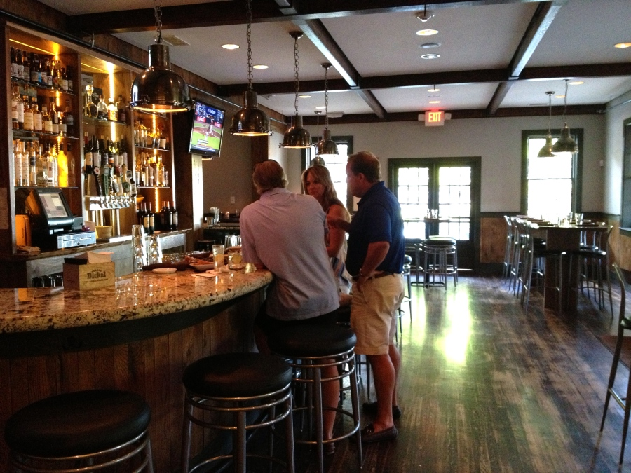 Belly up to the bar at The Mill.