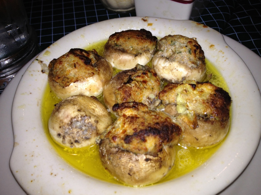 The controversial stuffed mushrooms.