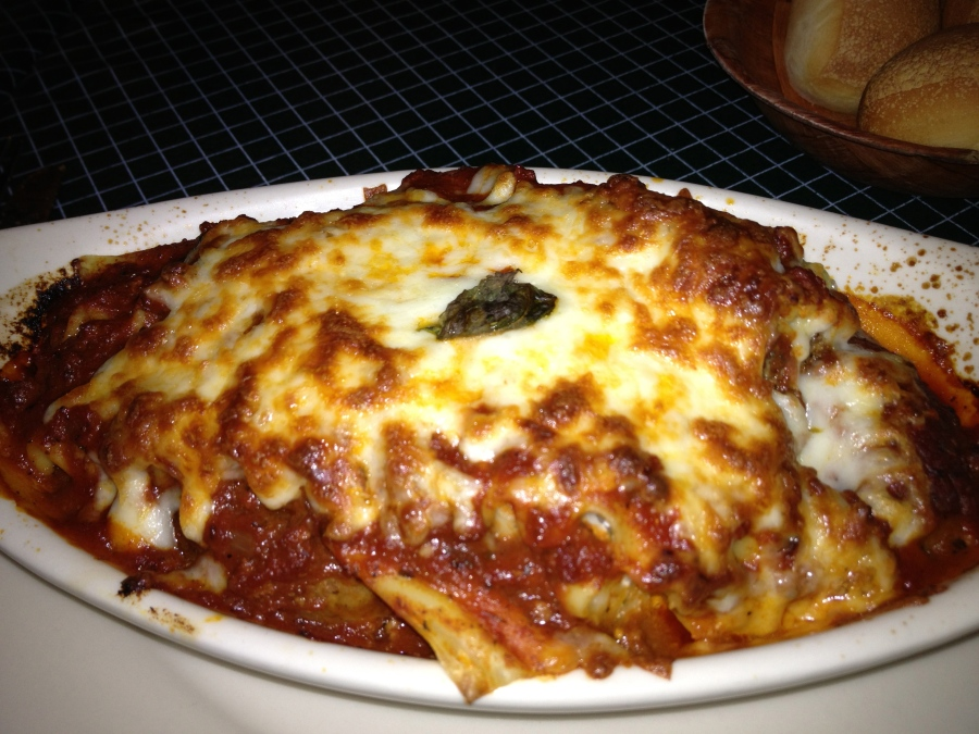 Hearty and filling lasagne.