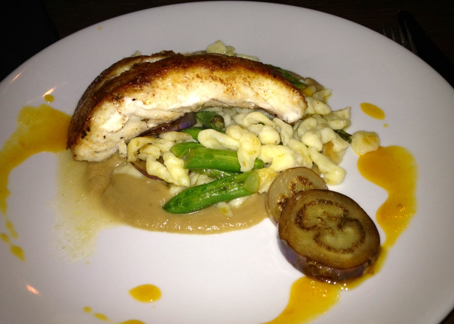The grouper is good.