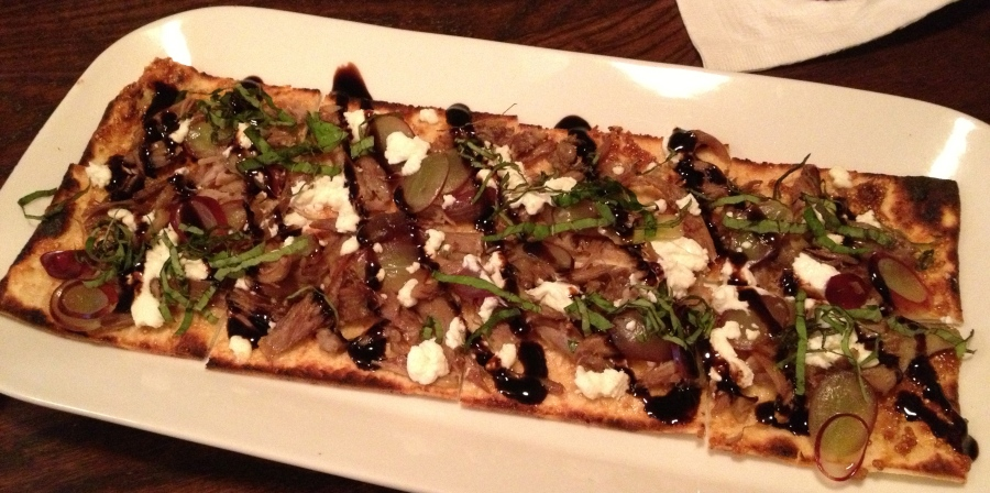 Flatbread to quack about.