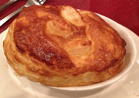 Pot pie to die for.