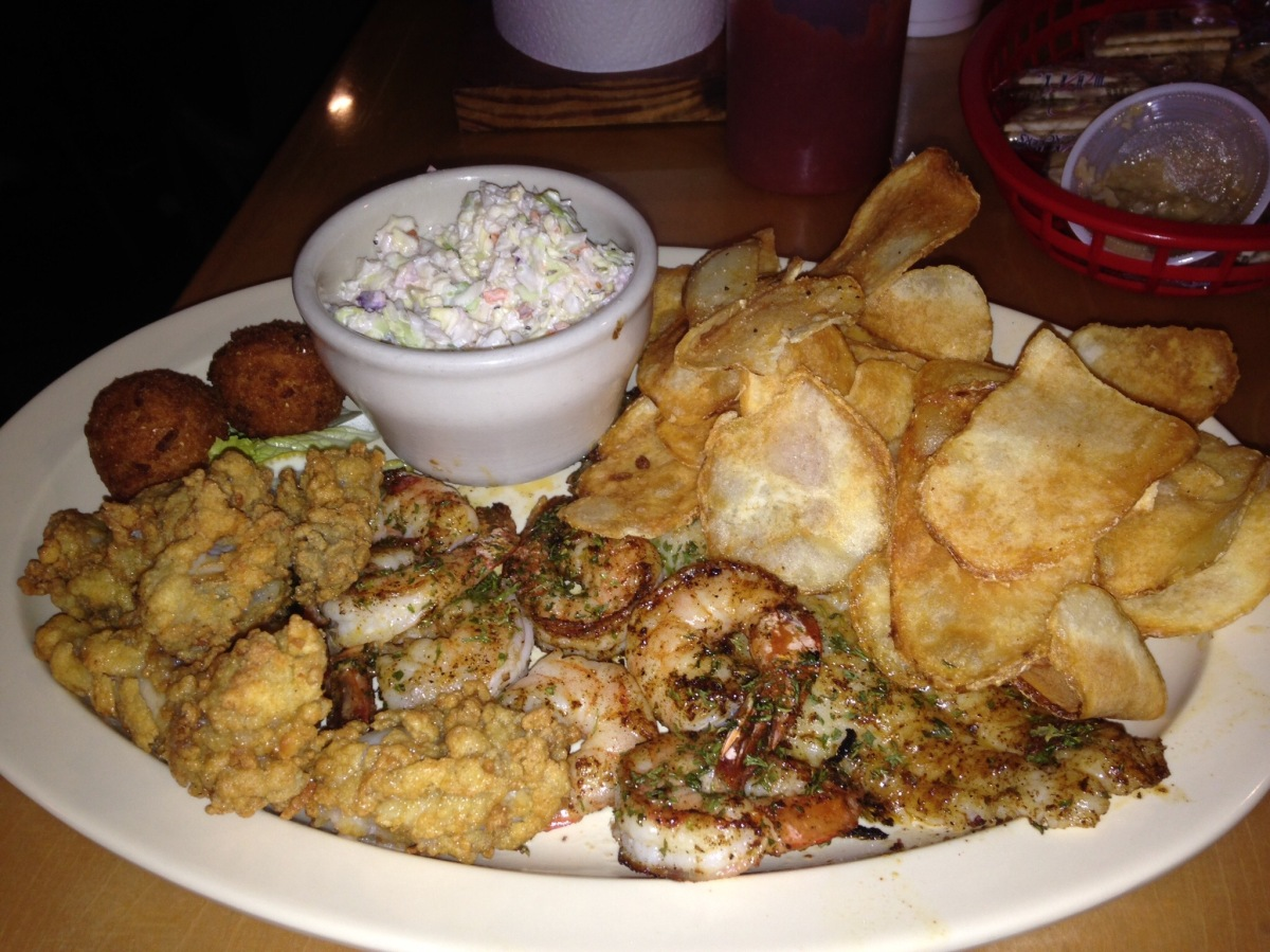 Road Trips:  Bubba Jax Crab Shack, Valdosta, GA