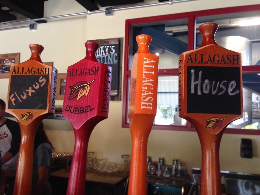July 2014 at Allagash Brewery, Portland Maine.