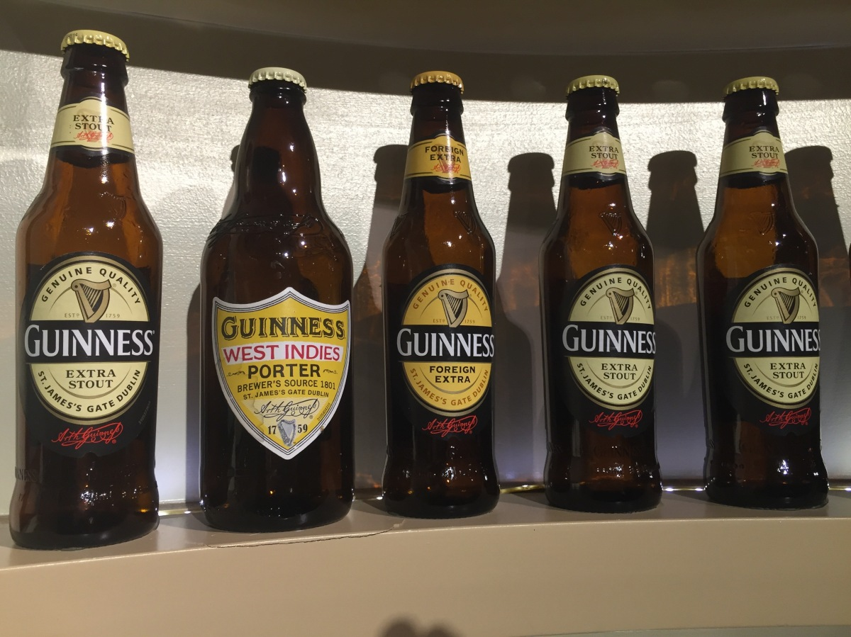 Guinness Storehouse Connoisseur Tour, Dublin, Ireland